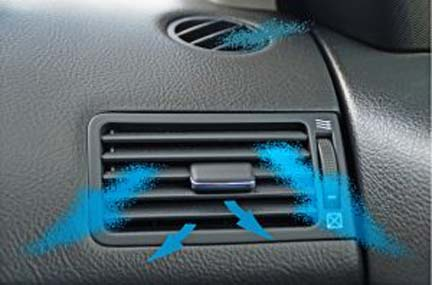 car air-conditioner cold air vent