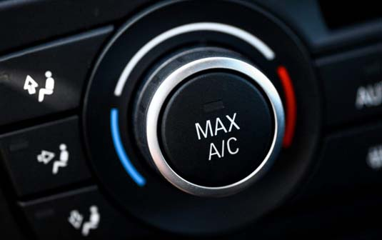 car air-conditioning switch