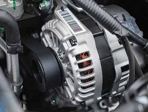 caravan and motor home alternator