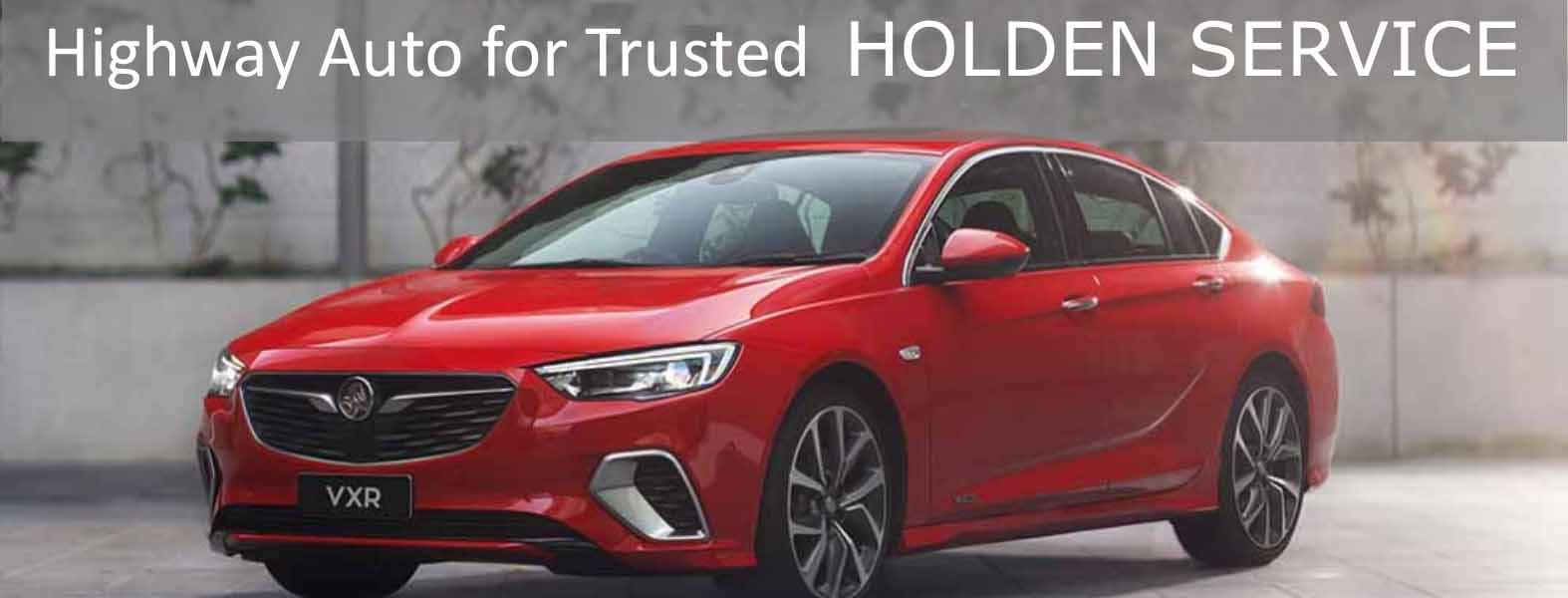 Holden servicing & repairs
