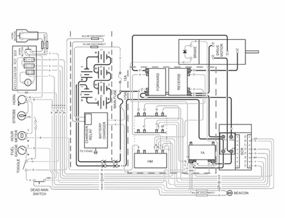 Car wiring schematic drawing