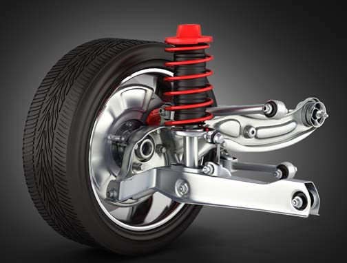 car struts shocks springs